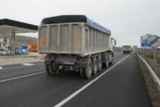 Los camiones de carbón gallegos llegan a Madrid reivindicando una solución al transporte