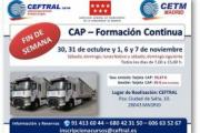 Nuevo curso CEFTRAL de formación continua CAP
