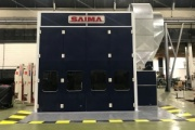 El MAN Center de Barcelona estrena cabina de pintura