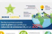 BERGE GEFCO recibe la primera estrella Lean & Green a la sostenibilidad
