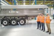 Lecitrailer presenta dos nuevas bañeras para el transporte de obras