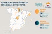 Repsol pone en marcha la estación de recarga de vehículos eléctricos de mayor potencia de Europa