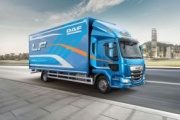 DAF recibe el premio al camión del año en UK por su serie LF