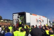La CETM condena el asalto a un camión durante las protestas de los agricultores en Jaén
