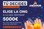 "Andamur donará 30.000 euros a ONGs españolas con la campaña ""Tú decides"""