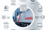 Kögel Telematics suministra datos a todos los portales telemáticos habituales