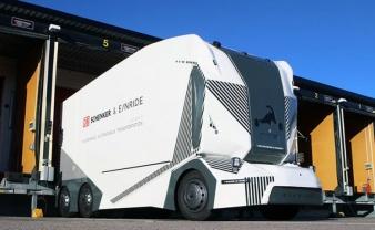 DB Schenker presenta el camión eléctrico y autónomo T-Pod