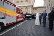 Una MAN TGE para los bomberos del Vaticano