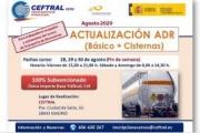 CEFTRAL oferta plazas para su curso de actualización ADR a finales de agosto