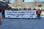 "CETM acusa al Gobierno navarro de ""querer criminalizar el transporte por carretera"""