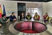 El transporte gallego se reúne con grupos políticos del Parlamento de Galicia