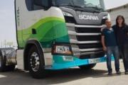 Transportes Sindo adquiere un camión Scania propulsado por GNL