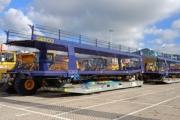 La fábrica del Grupo PSA en Kenitra recibe los primeros vagones de GEFCO