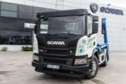 Contenedores MAI amplía su flota con un camión Scania XT propulsado por GNC