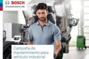 Bosch lanza una campaña de mantenimiento para vehículo industrial