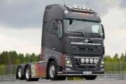 Volvo trucks subasta su exclusivo camión Swedish Metal