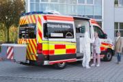 MAN presenta su vehículo de diagnóstico móvil de coronavirus basado en la TGE