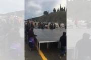 Los independentistas vuelven a cortar la AP-7 a la altura de La Junquera