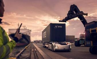 Vera, el vehículo eléctrico y autónomo de Volvo Trucks