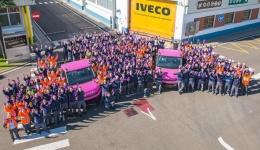 Iveco, con la lucha contra el cáncer de mama