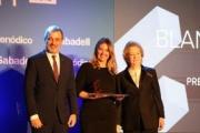 Blanca Sorigué recibe el Premio Equipara de los Premios Empresa del Año 2019