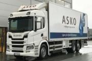ASKO incorpora a su flota camiones Scania de hidrógeno