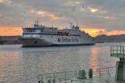 Brittany Ferries continúa sus pruebas en el Puerto de Bilbao