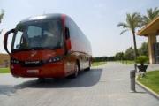 Las empresas de autobuses murcianas se comprometen con la crisis del coronavirus