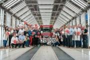 MAN celebra la producción de su TGE número 20.000