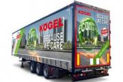 Gran capacidad de carga para el nuevo Kögel Mega Light plus