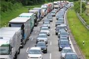 Bloqueos de carreteras en la frontera entre Alemania y Austria