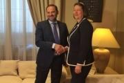 Ábalos confirma a la comisaria de Transporte la inclusión de España en la Alianza por la Carretera