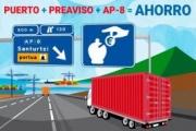 El sistema de preavisos del Puerto de Bilbao y la AP-8 incentiva a más de 500 camiones