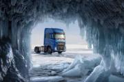 Ford Trucks participa en el récord de velocidad del lago Baikal